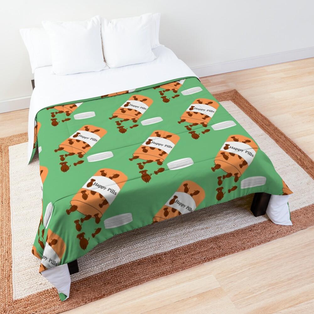 Doggy happy pills Comforter