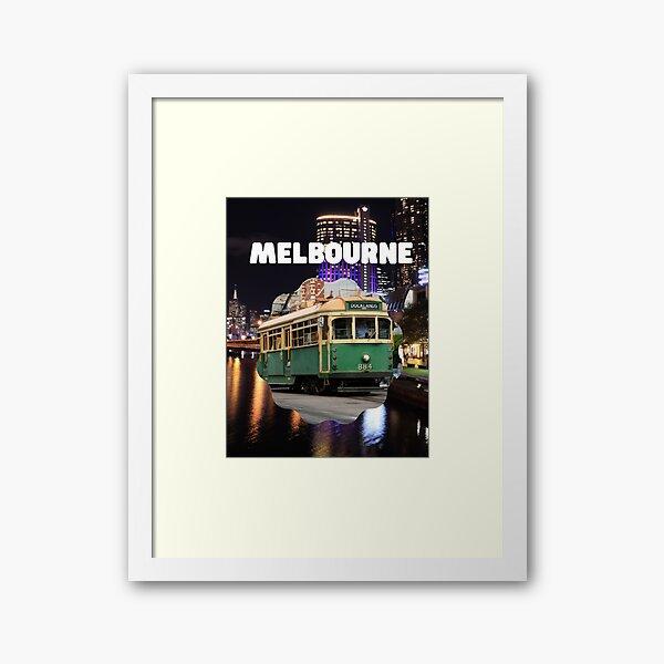 Melbourne Photography Print Framed Art Print