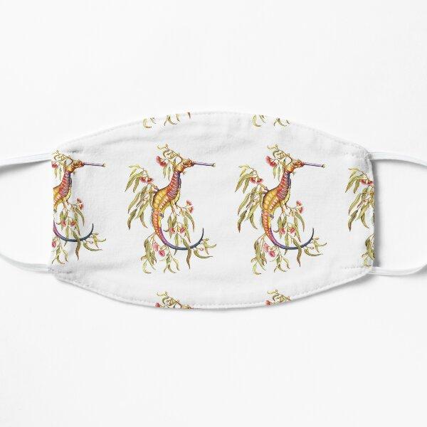 Floral Weedy Sea Dragon  Flat Mask