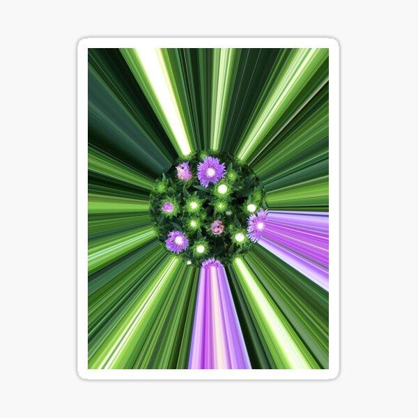 Flowerpower Fotografik Pilbri Sticker