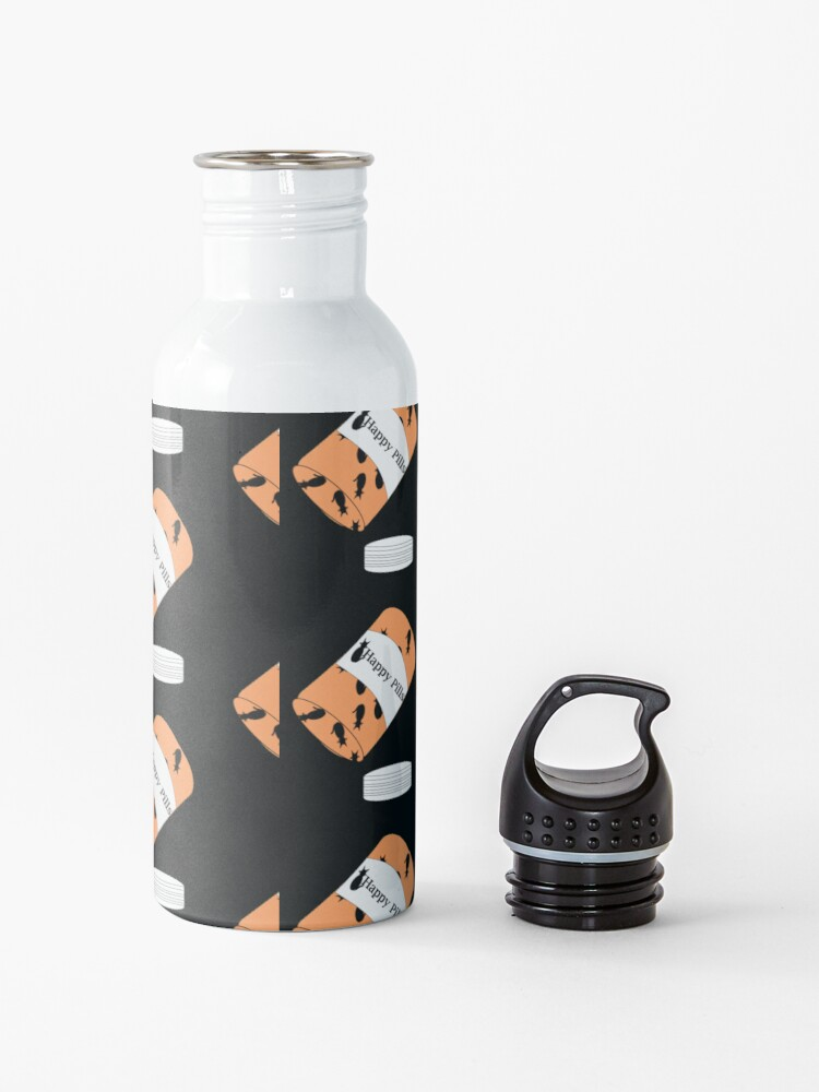 Alternate view of Cat Happy Pills Water Bottle