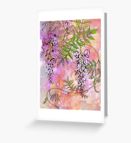 DREAMS OF SPRING ON A CHILL WINTER DAY Greeting Card