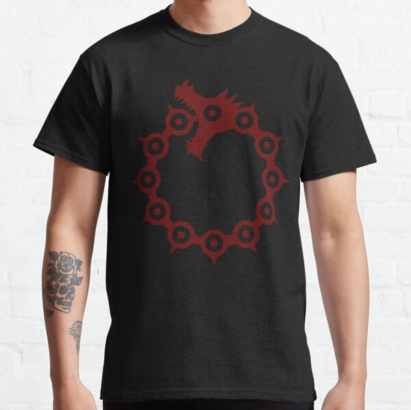 Dragon's Sin of Wrath Classic T-Shirt