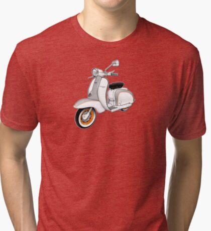 Scooter T-shirts Art: 1961 Series 2 Li 150 Scooter Design Tri-blend T-Shirt