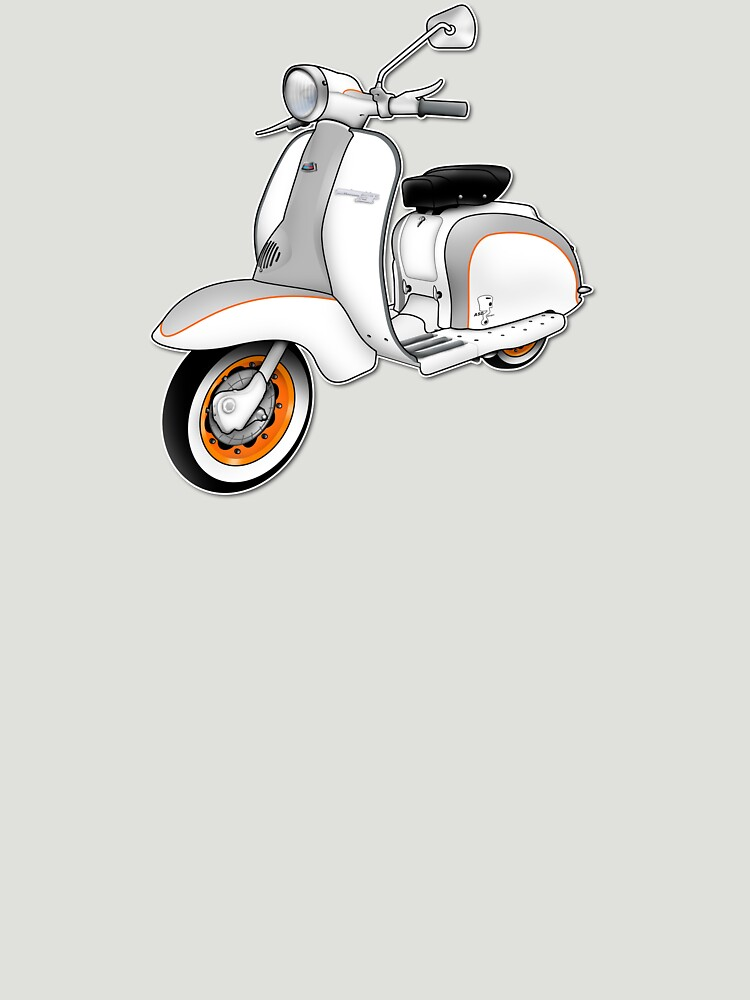 Scooter T-shirts Art: 1961 Series 2 Li 150 Scooter Design by yj8dsk57