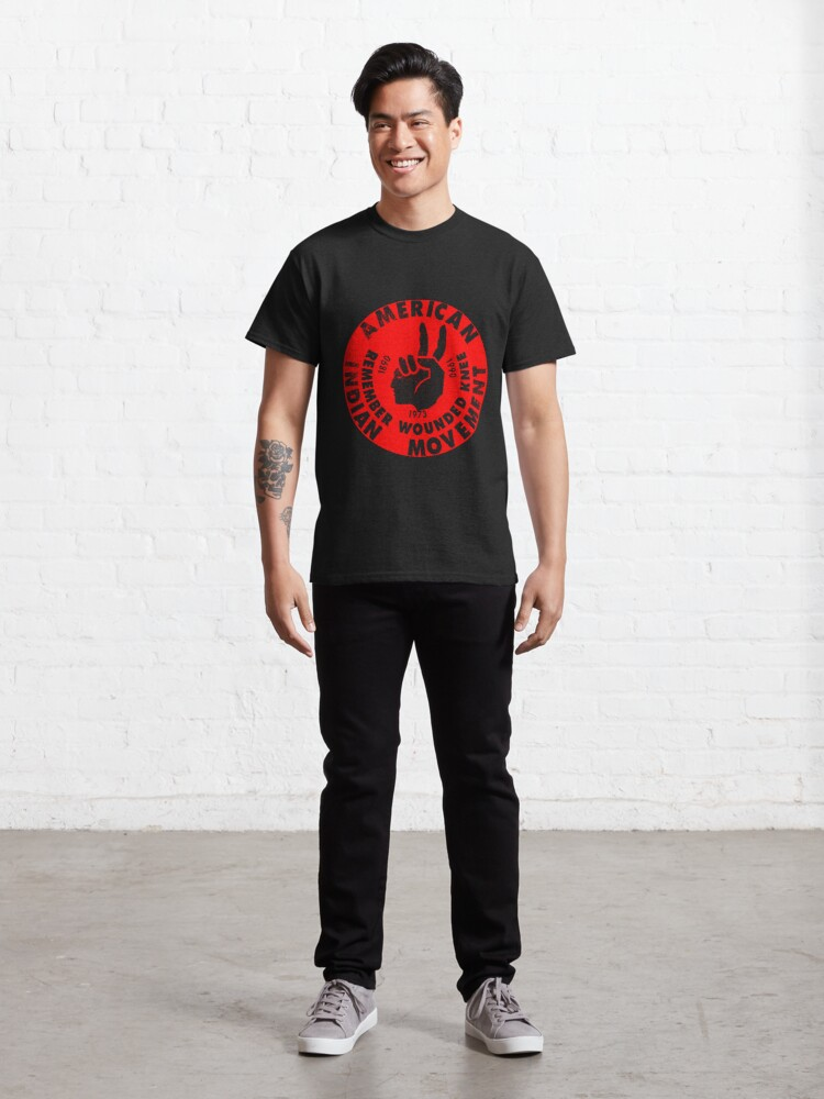 Alternate view of AIM (American Indian Movement) Classic T-Shirt