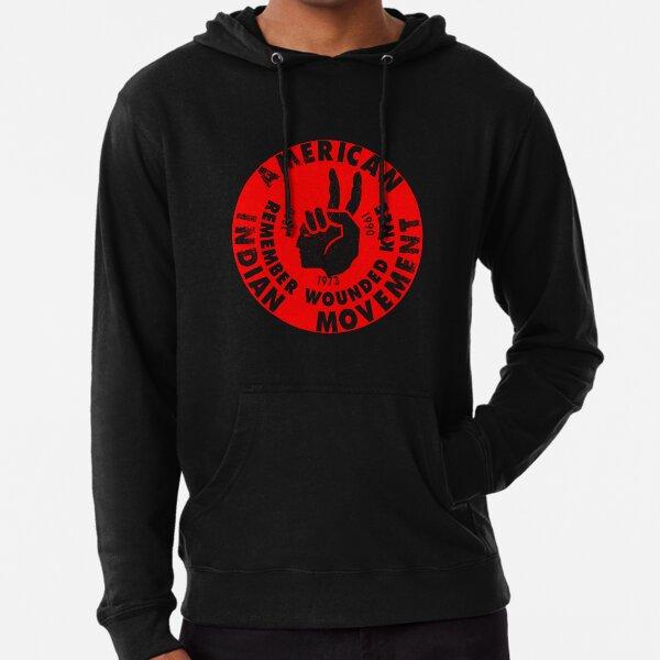 AIM (American Indian Movement) Lightweight Hoodie