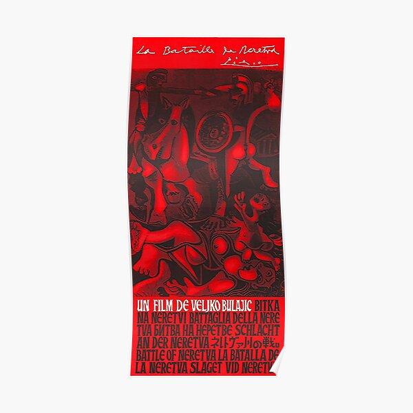 Pablo Picasso Battle of Neretva (Битка на Неретви) (1969) Poster