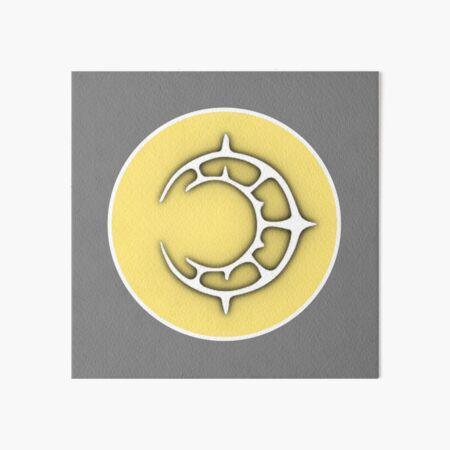 Crest of Riegan Art Board Print