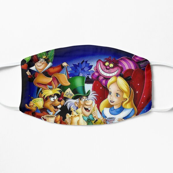 ALICE IN WONDERLAND : Cartoon Modern Print Mask