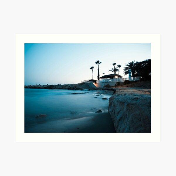 Silent beauty - Limassol Art Print