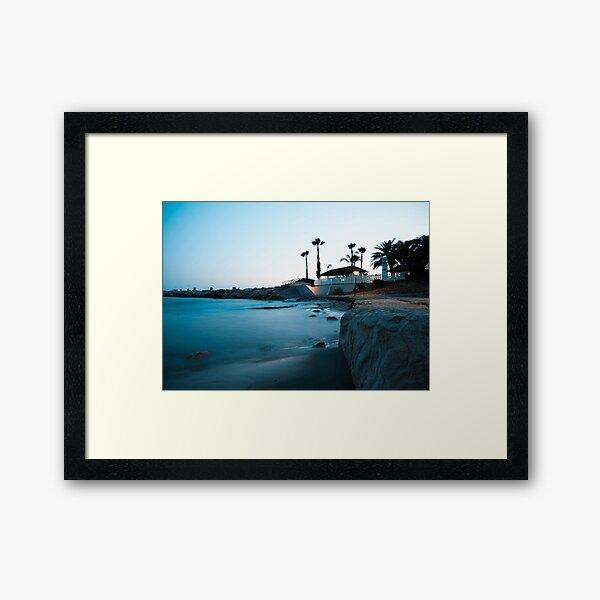 Silent beauty - Limassol Framed Art Print