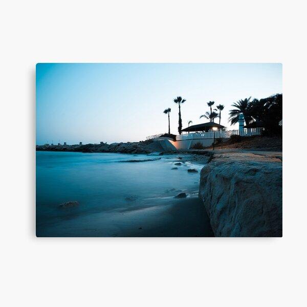 Silent beauty - Limassol Canvas Print