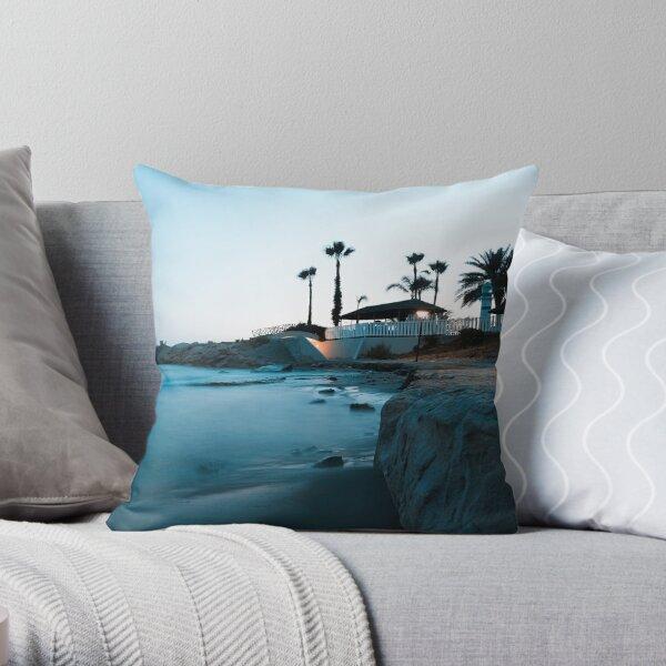 Silent beauty - Limassol Throw Pillow