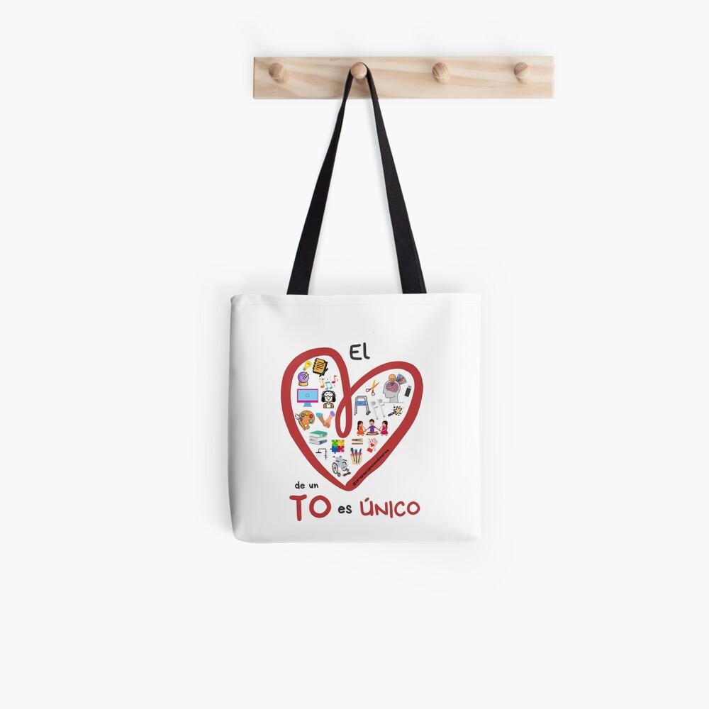 El corazón de un TO es único Bolsa de tela