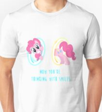 Now You're Thinking With Smiles - Pinkie Pie - MLP T-Shirt