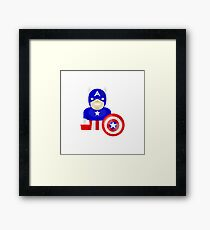 Super Hero Framed Print