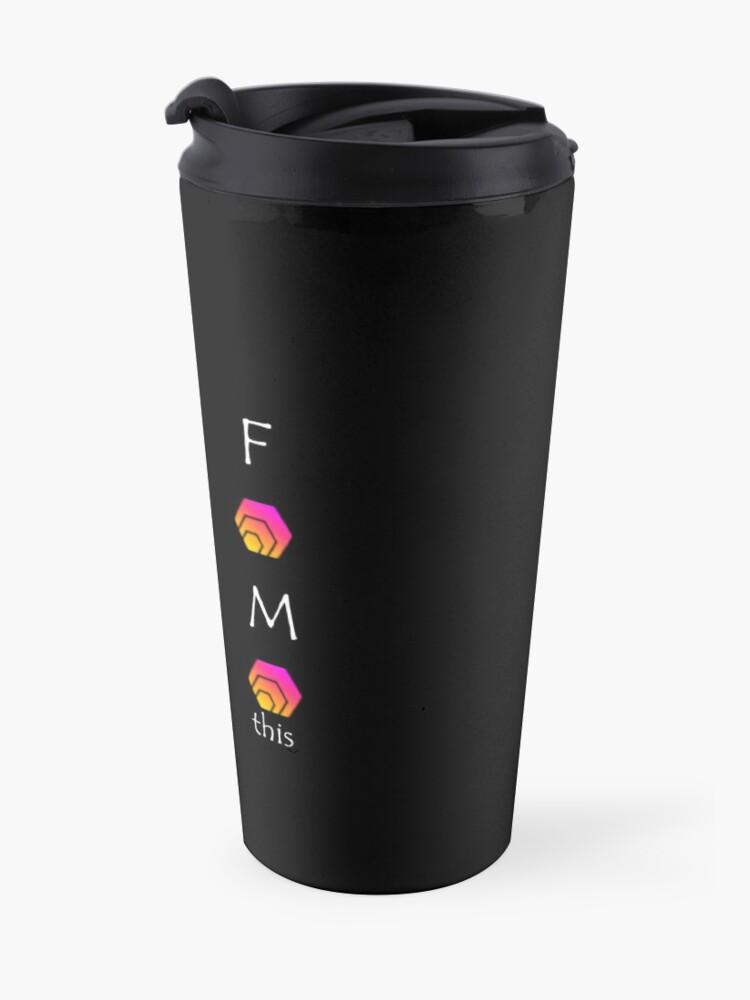 Alternate view of FOMO HEX Travel Mug