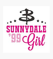 Sunnydale Girl Photographic Print