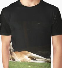 Lazy Kangaroo Graphic T-Shirt