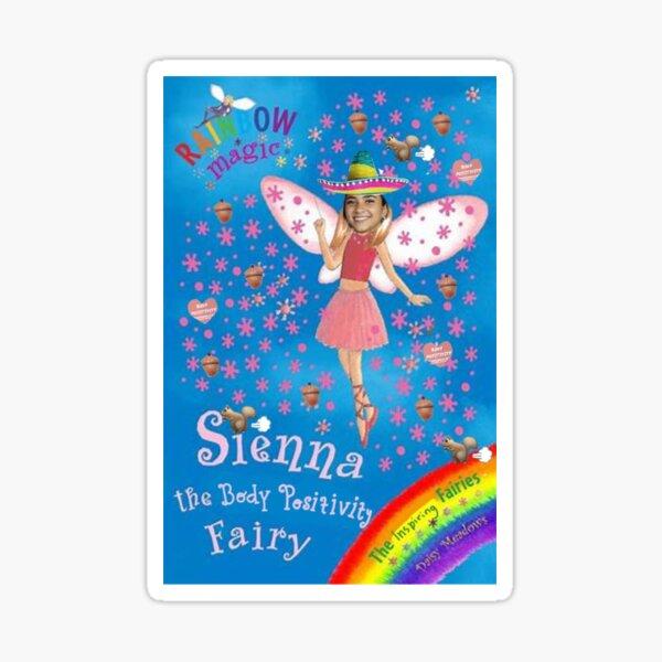 Sienna the body positivity fairy Sticker