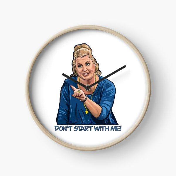 Kim Woodburn- Don't Start with me, dear! Clock