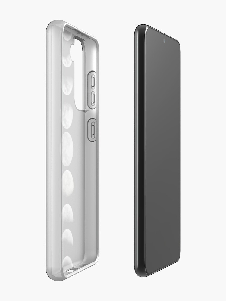 Alternate view of Moon phases Case & Skin for Samsung Galaxy