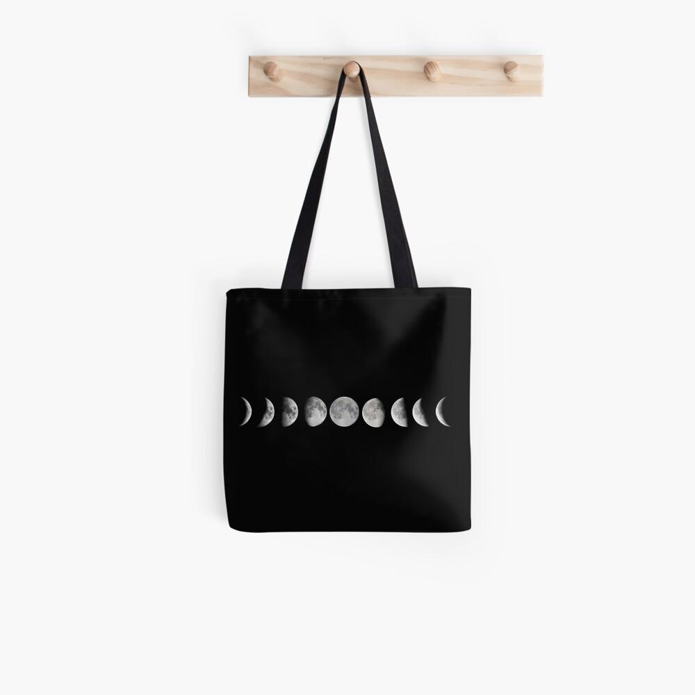 Mondphasen Stofftasche