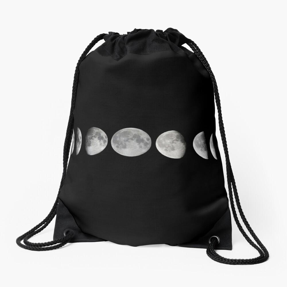 Mondphasen Turnbeutel