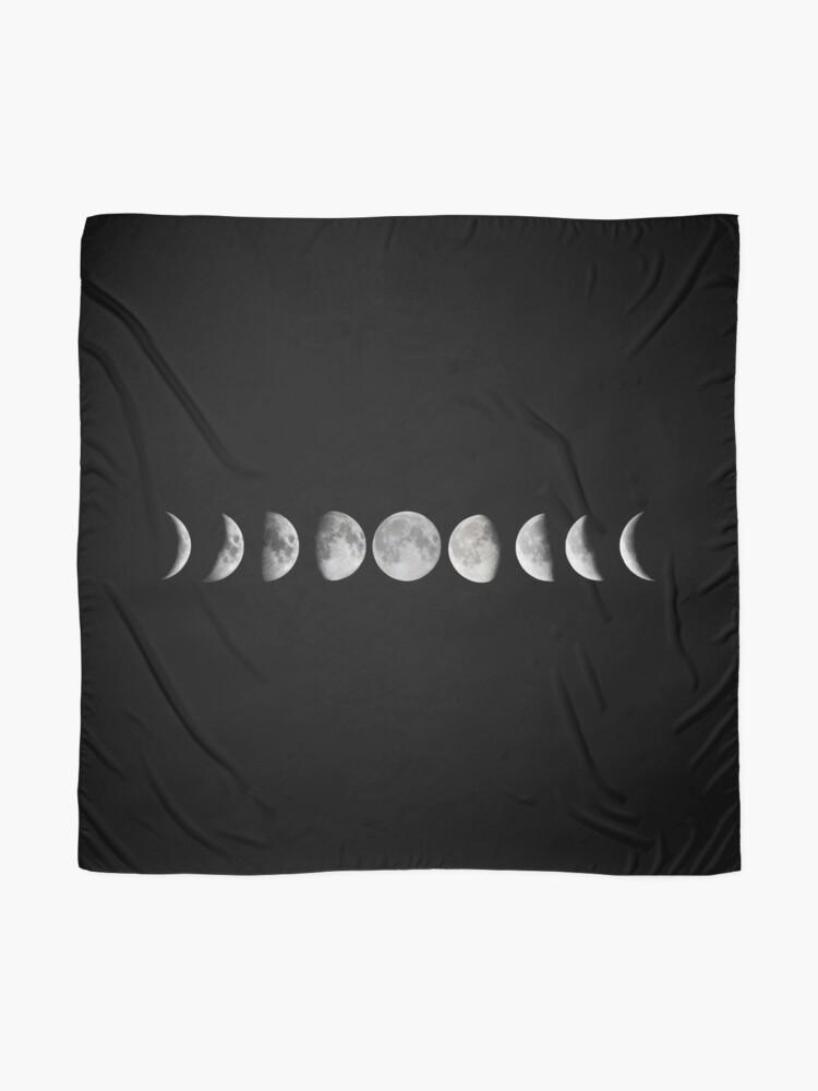 Alternative Ansicht von Mondphasen Tuch