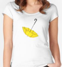 The Yellow Umbrella Women's Fitted Scoop T-Shirt