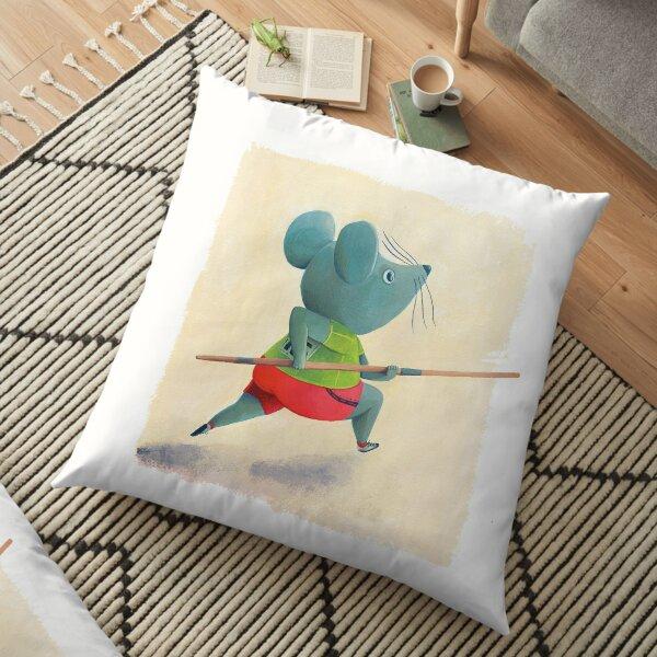 Run! Floor Pillow