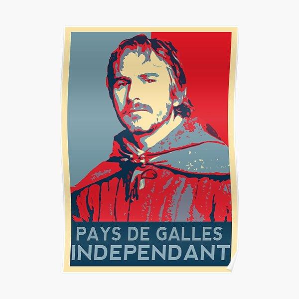 Kaamelott - Perceval Hope Style - Pays de Galles Indépendant Poster