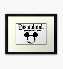 Dismaland Mickey Framed Print