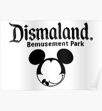 Dismaland Mickey Poster