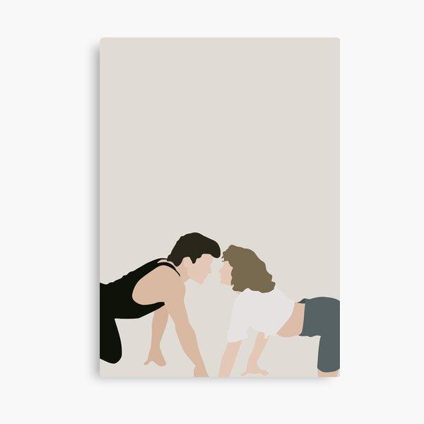 Johnny & Baby Canvas Print