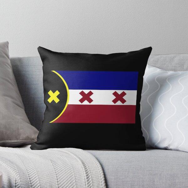 L'Manberg Dream SMP Flag Throw Pillow