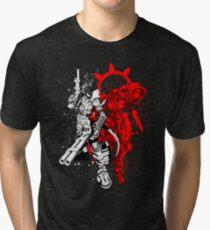 Susanoomon and Beelzemon Tri-blend T-Shirt