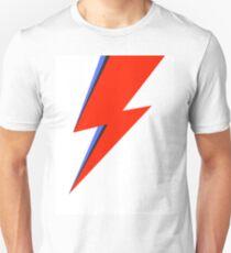 Aladdin Sane Lightning Flash  Unisex T-Shirt