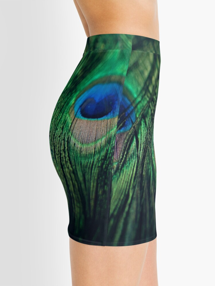 Alternate view of Peacock Feathers Mini Skirt