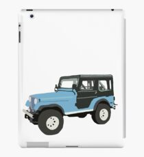 Roscoe the Jeep! iPad Case/Skin