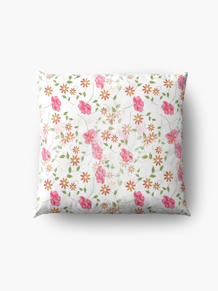 Alternate view of Sunshine & Wild Flowers Floor Pillow