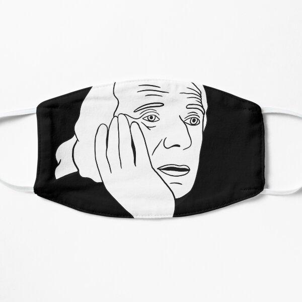 Deleuze - Philosophie de Gilles Deleuze (Rhizom etc.) Masque taille M/L