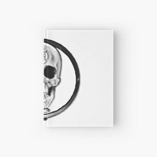 GOEN skull b/w Hardcover Journal