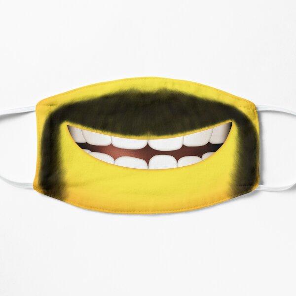 Minion with Horseshoe moustache Flat Mask