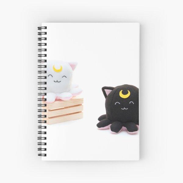 Taneko: Artemis & Luna Spiral Notebook