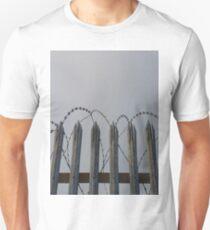 Razor-wire fence Unisex T-Shirt