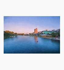 Adelaide Riverbank at Sunset   (OG) Photographic Print