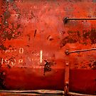 Box Car ~  Rusty Grunge by Elaine Bawden