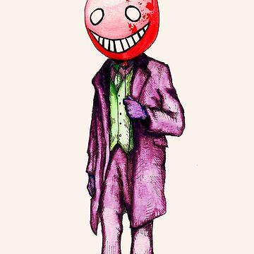 Nice Man With Ballon. by LVBART